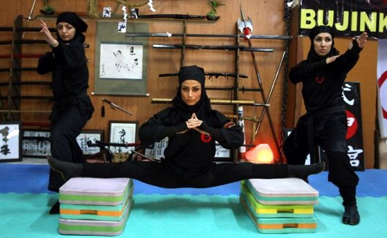 Female Ninjas of Iran 2