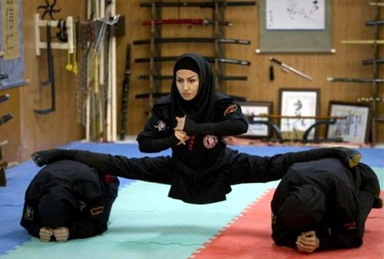 Female Ninjas of Iran 3