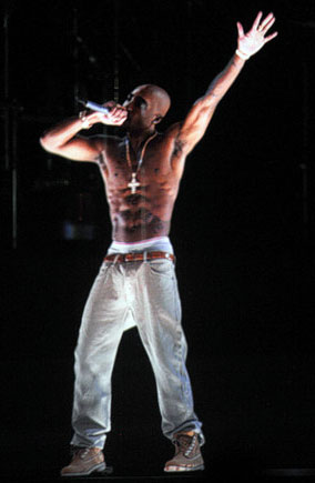 Tupac Hologram Performs At Coachella 2012