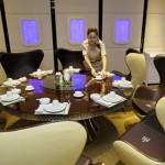 A380 Restaurant -  Group Table
