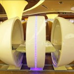 A380 Restaurant -  Ovoid Table