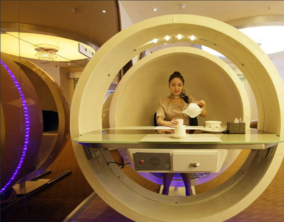 A380 Restaurant - Oval Table - China