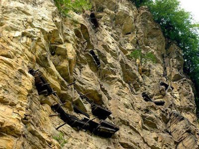 Hanging Coffins of the Three Gorges