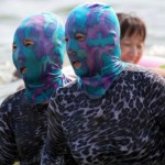 Face-Kini – Chinese Head Masks At The Beach
