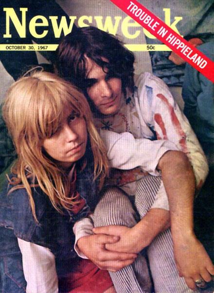 Newsweek - Trouble in Hippieland - 1967