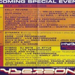 cyberzone Schedule for Summer '99