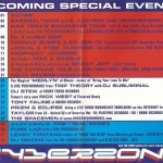 cyberzone special events July - Sep 1999