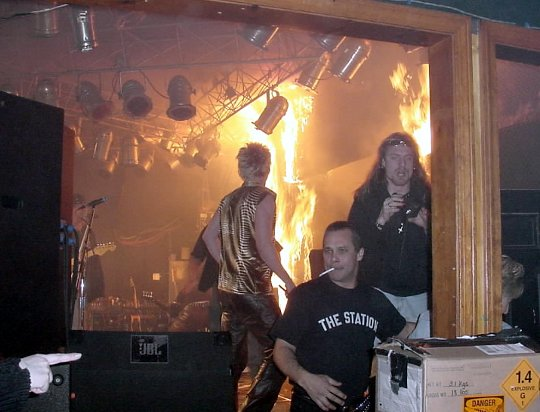 Great White - Station Club Fire