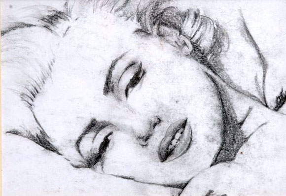 Marilyn Monroe by Lee Hadwin