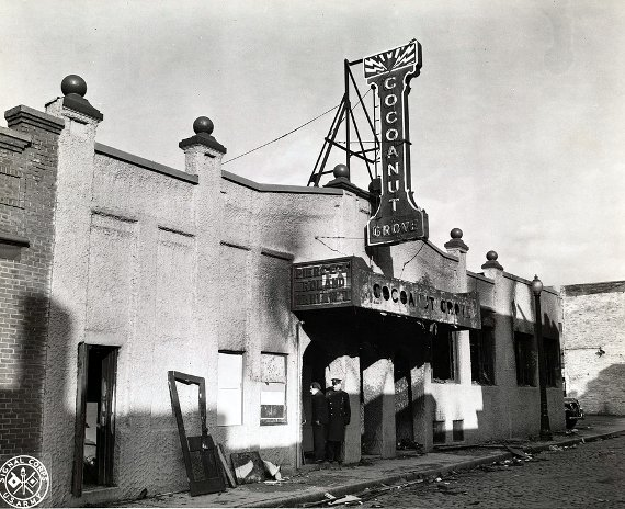 Cocoanut Grove Fire - Aftermath - Building front