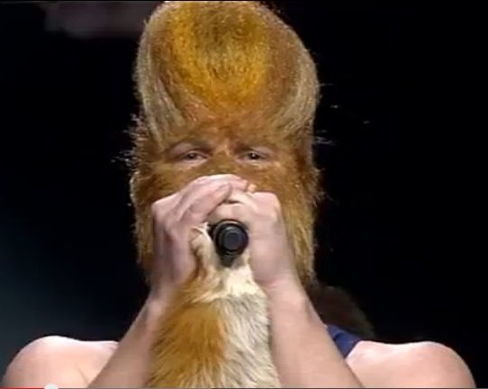 chewbacca sings in eurovision