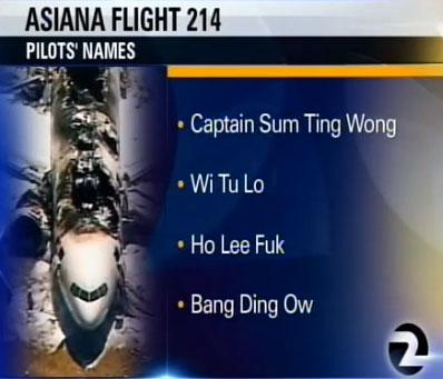 KTVU Asian Pilot's Names