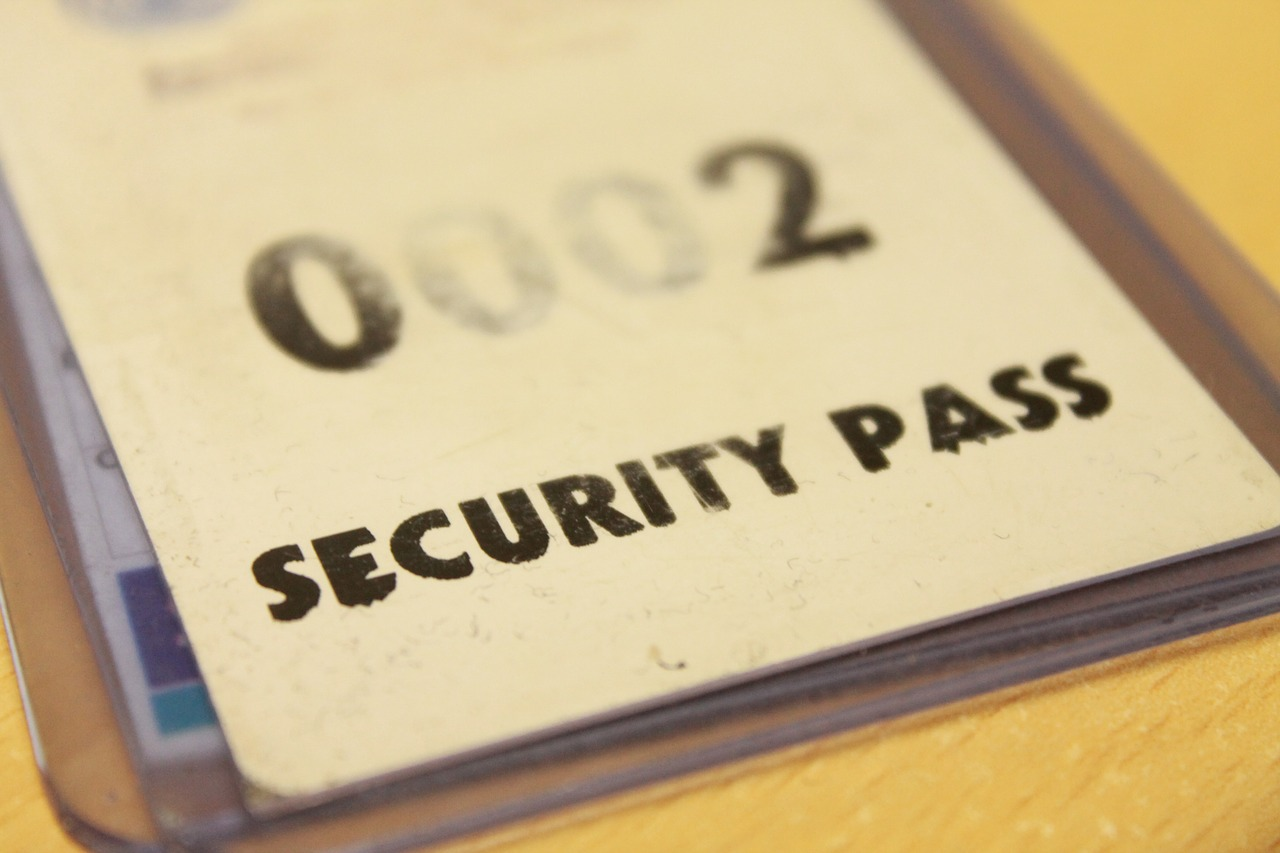 A ID card management system can help make your business more secure ... photo by CC user Simeworks on pixabay