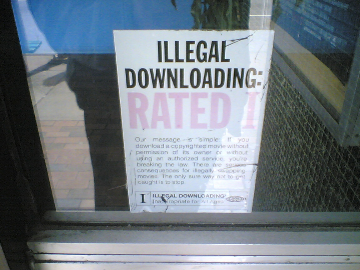 There are many dangers of illegal downloading ... photo by CC user sillygwailo on Flickr