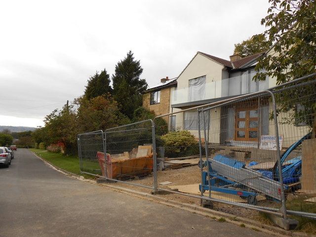 Planning a house extension is an involved process that needs to be undertaken carefully ... photo by CC user Nigel Mykura on geograph.org.uk
