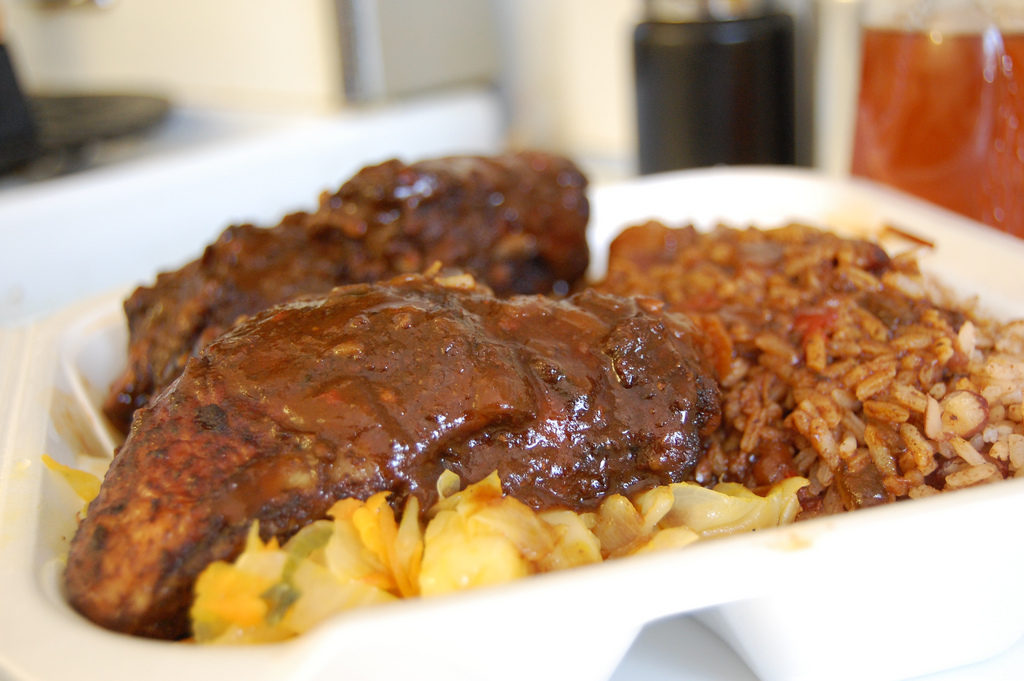 Jerk Chicken is a Traditional Jamaican Food that many islanders love