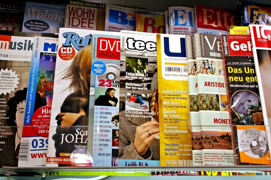 Magazines should be part of any Traditional Advertising Strategies to Promote Your Small Business
